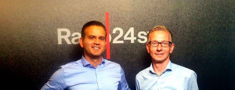 René Engell i Millionærklubben på Radio 24/7