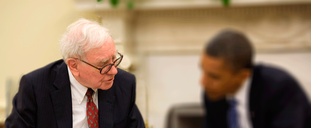 Warren Buffett og Barack Obama