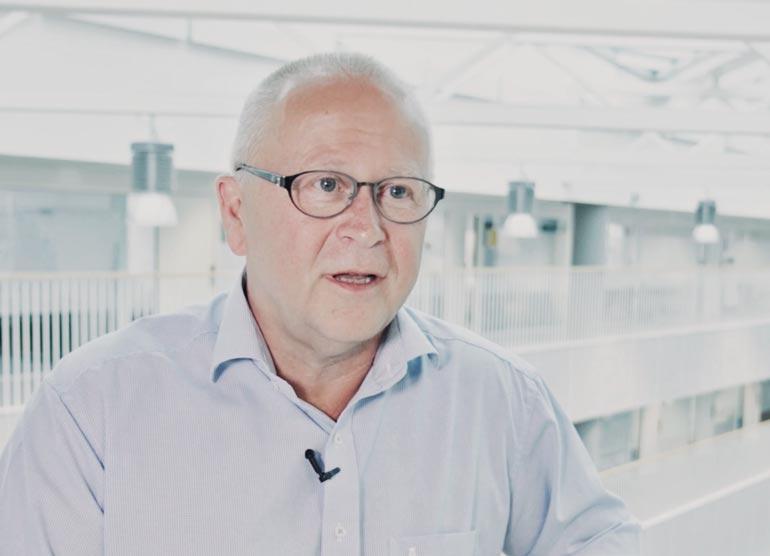 Finn Støy, investor i Falcon Flex