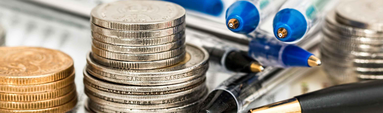 Penge der illustrerer begrebet kapitalforening