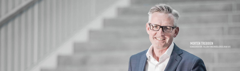 Morten Trebbien, Kundedirektør, Falcon Fondsmæglerselskab A/S