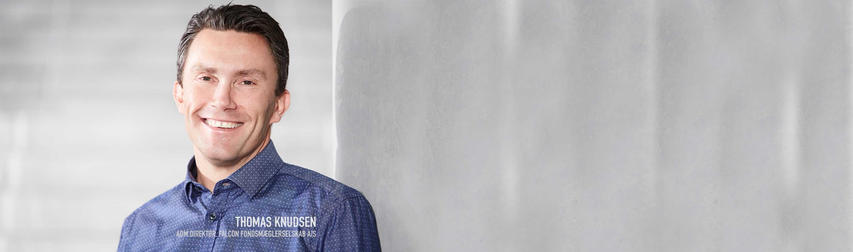 Adm.direktør Thomas Knudsen, Falcon Fondsmæglerselskab A/S